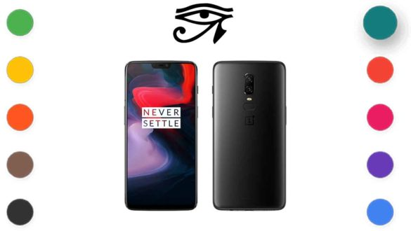 crDroid OS 7.1 on OnePlus 6