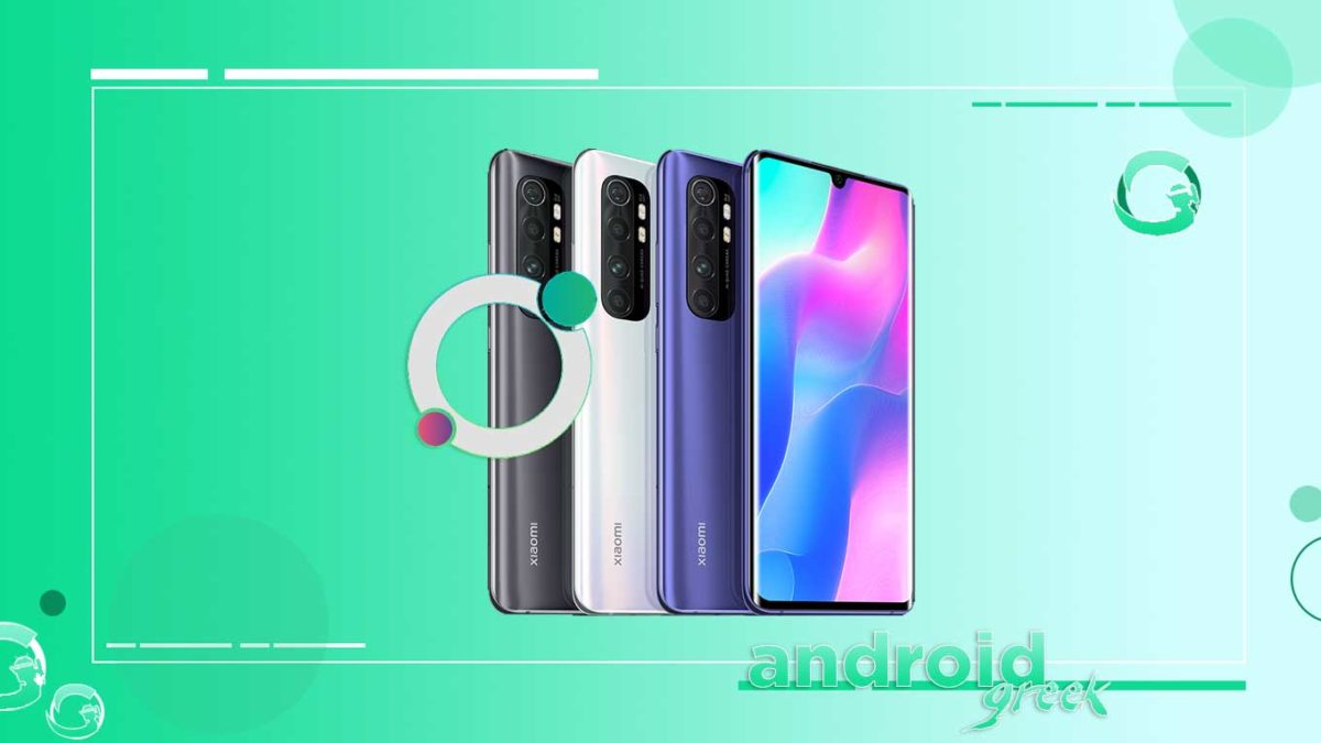 How to Download and Install DotOS on Xiaomi Mi Note 10 Lite [Android 11 R]