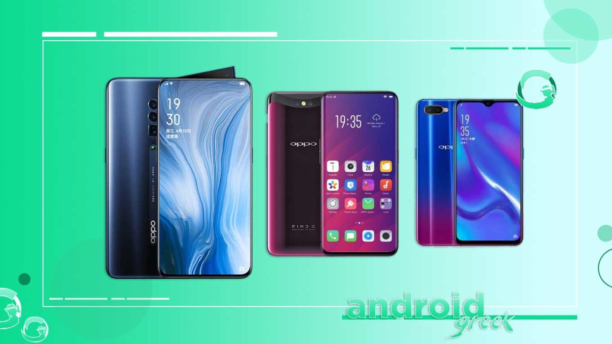 Oppo Reno 10x Zoom, Find X, K1, and A12 gets Android March Security Update 2021