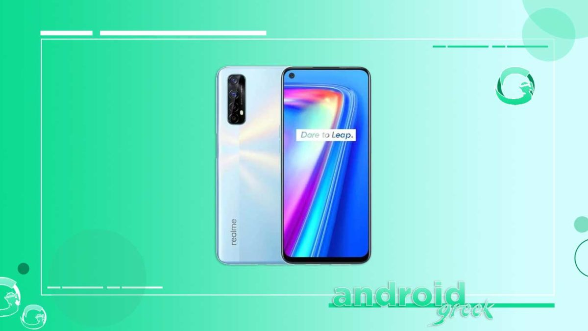 Realme 7 gets Realme UI 2.0 March Security patch Update