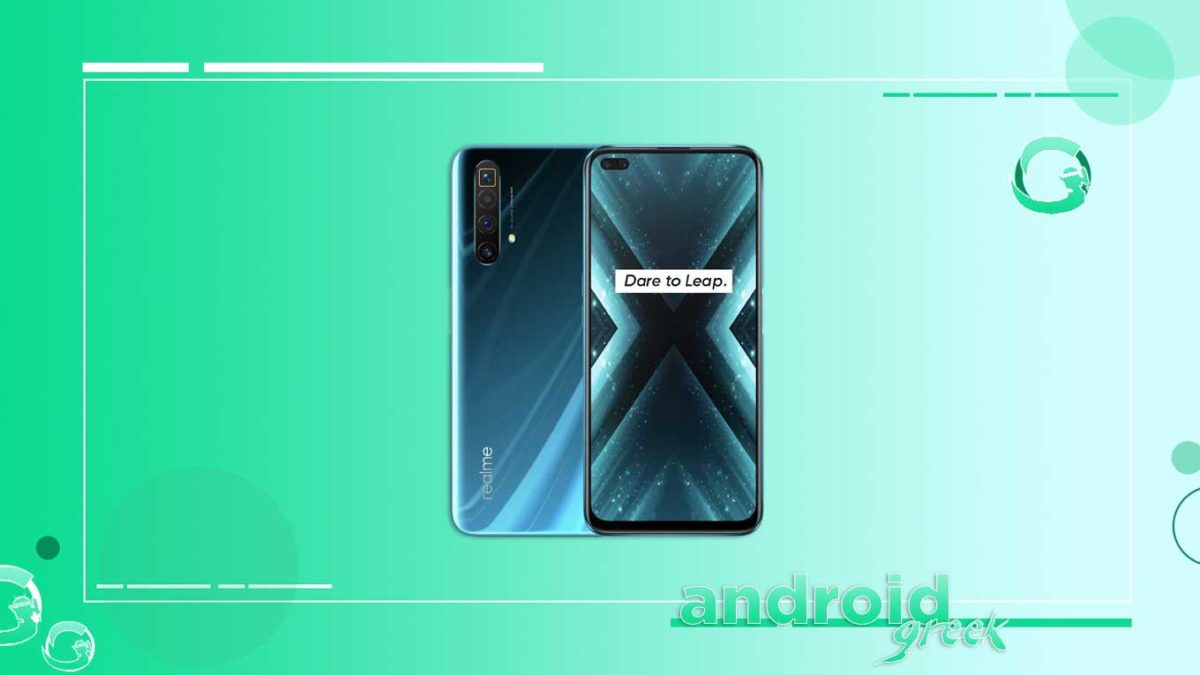 Realme X3 and X3 SuperZoom receiving with Android 10 and fix network