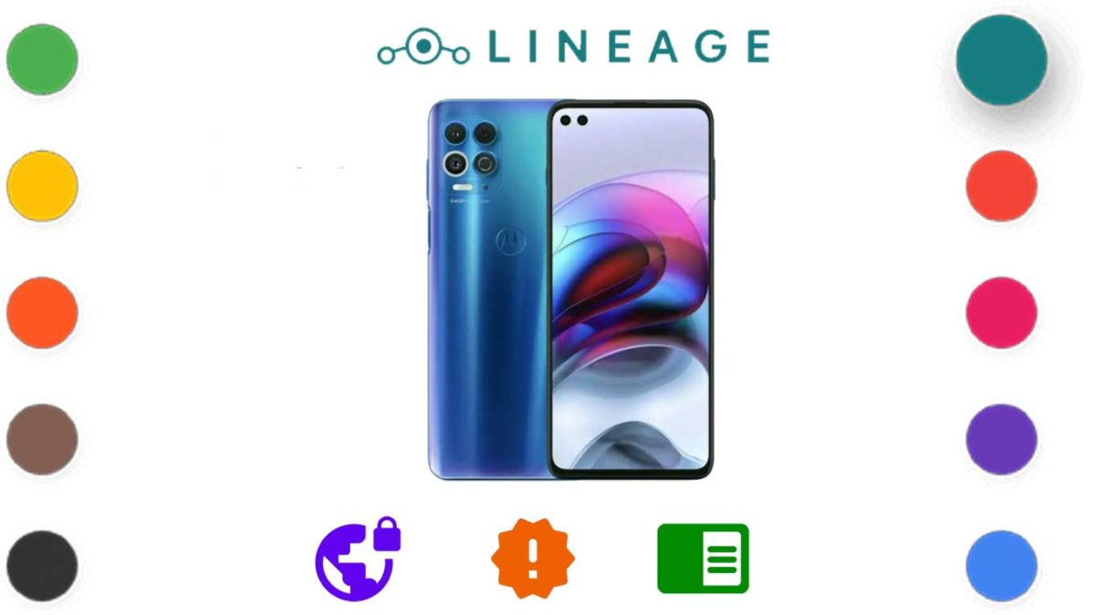 Download and Install Lineage OS 18.1 for Motorola Edge [Android 11 R]