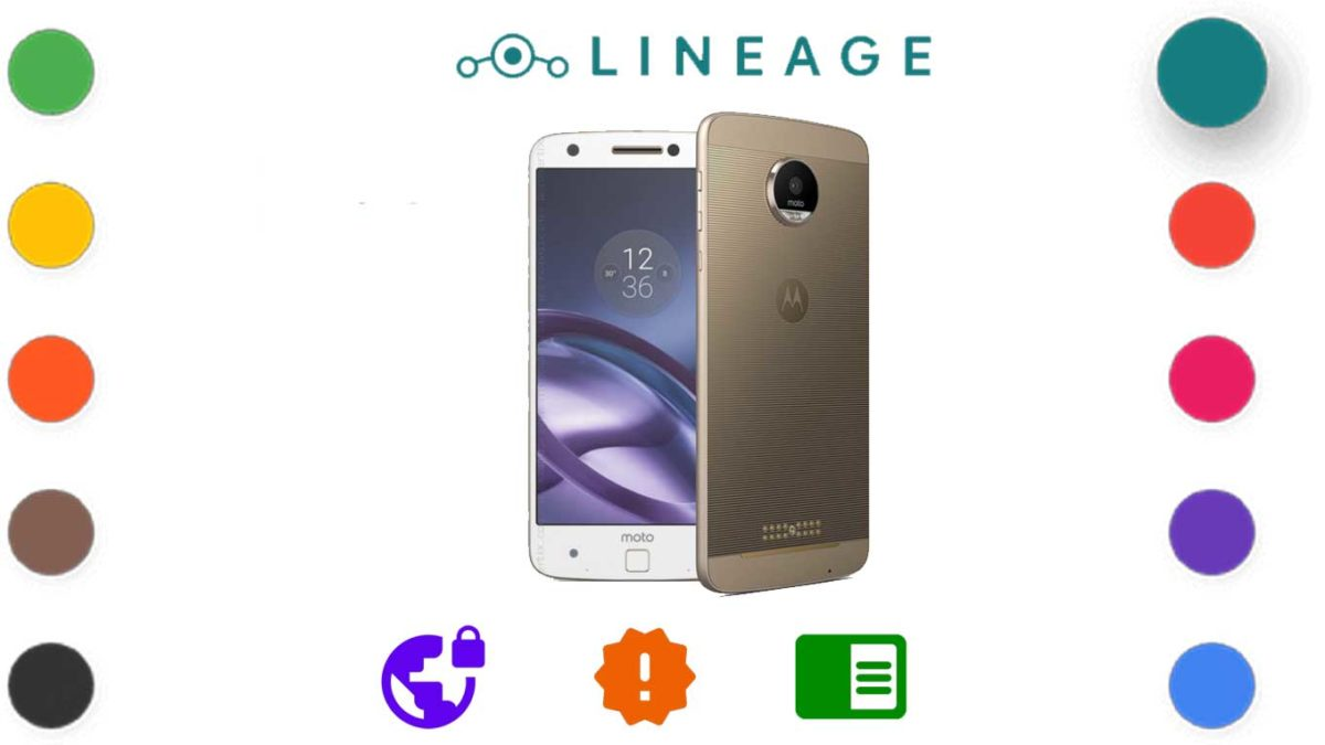Download and Install Lineage OS 18.1 for Motorola Moto Z [Android 11 R]