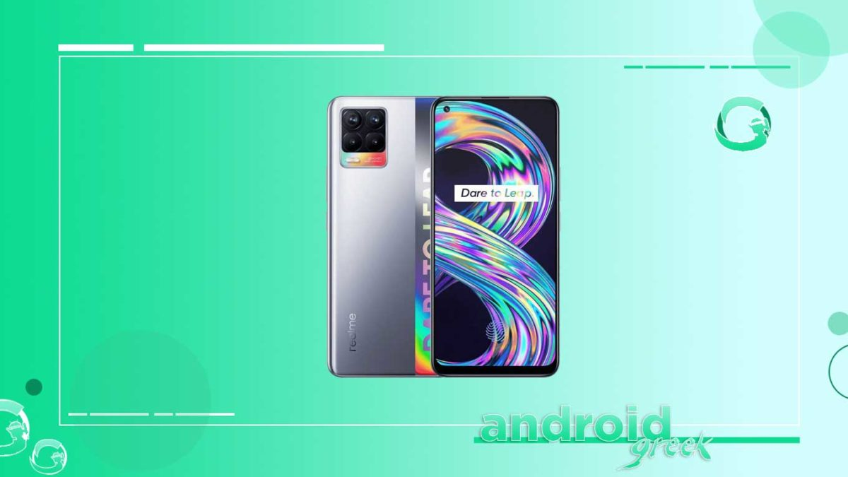 Realme 8 receive the update adds new features and camera fixes