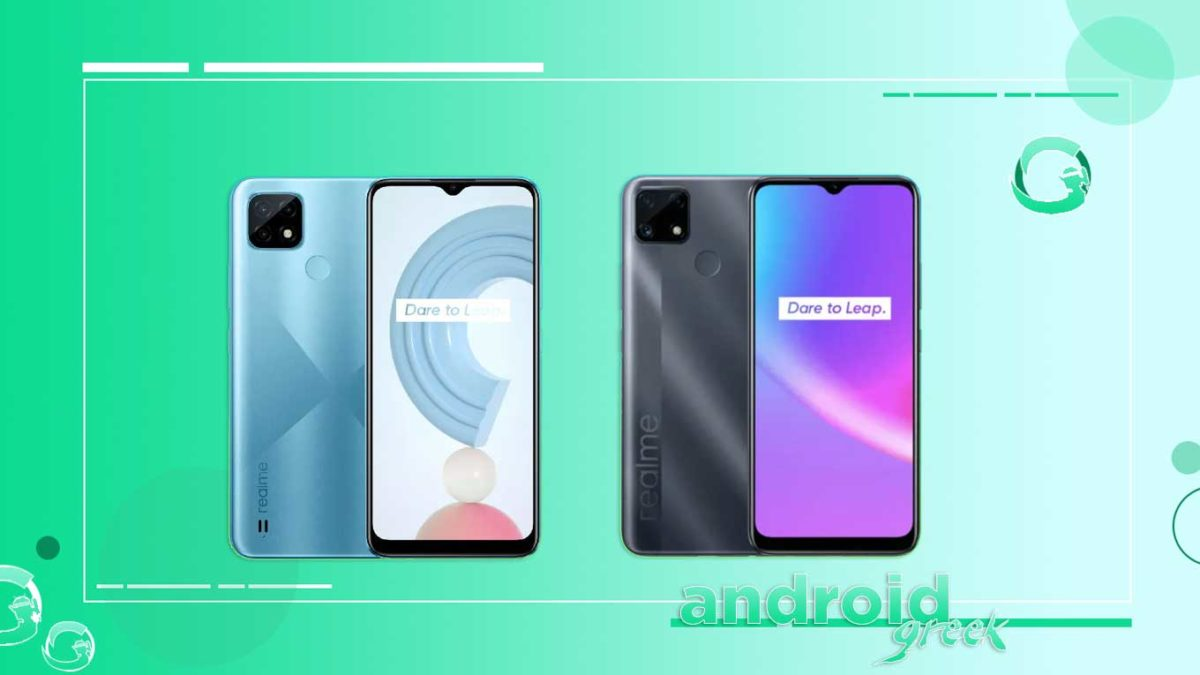 Realme C20, C21 and C25 announced to launch in India