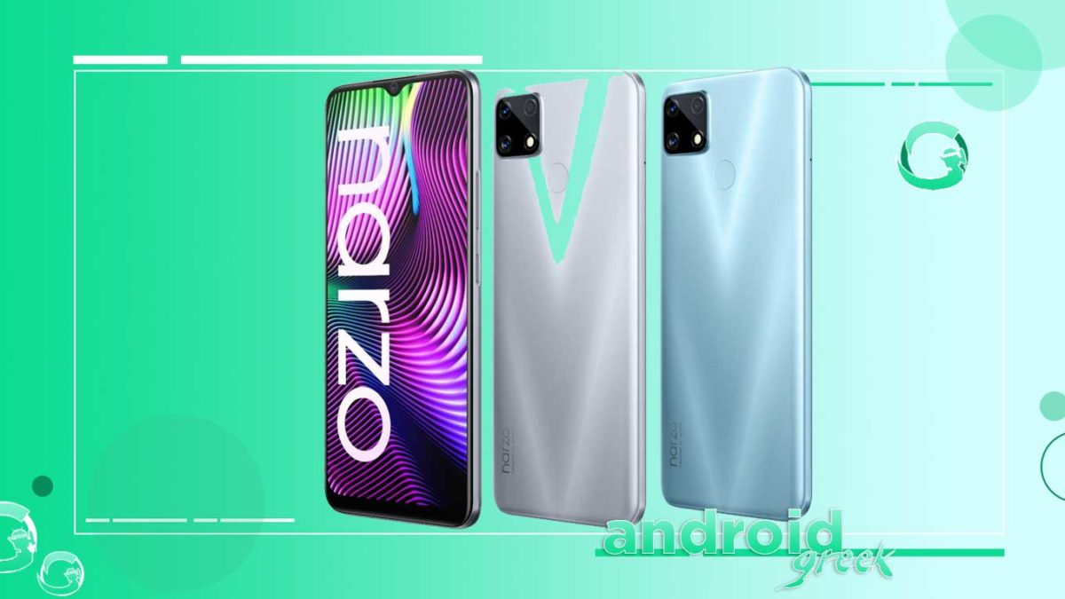 Realme Narzo 20 receive March 2021 android security patch
