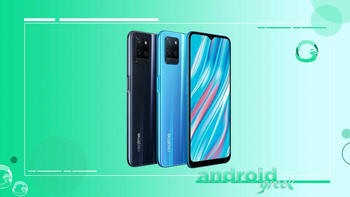 Realme V11 5G receive April 2021 Android Security