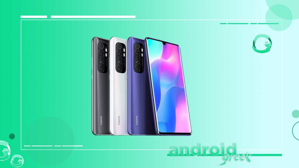 Xiaomi Mi Note 10 Lite gets Android 11 update – Download and Install
