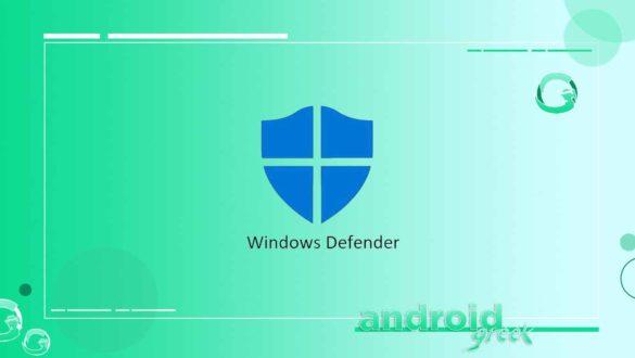 Fix Widows Defender Error 0x800700AA