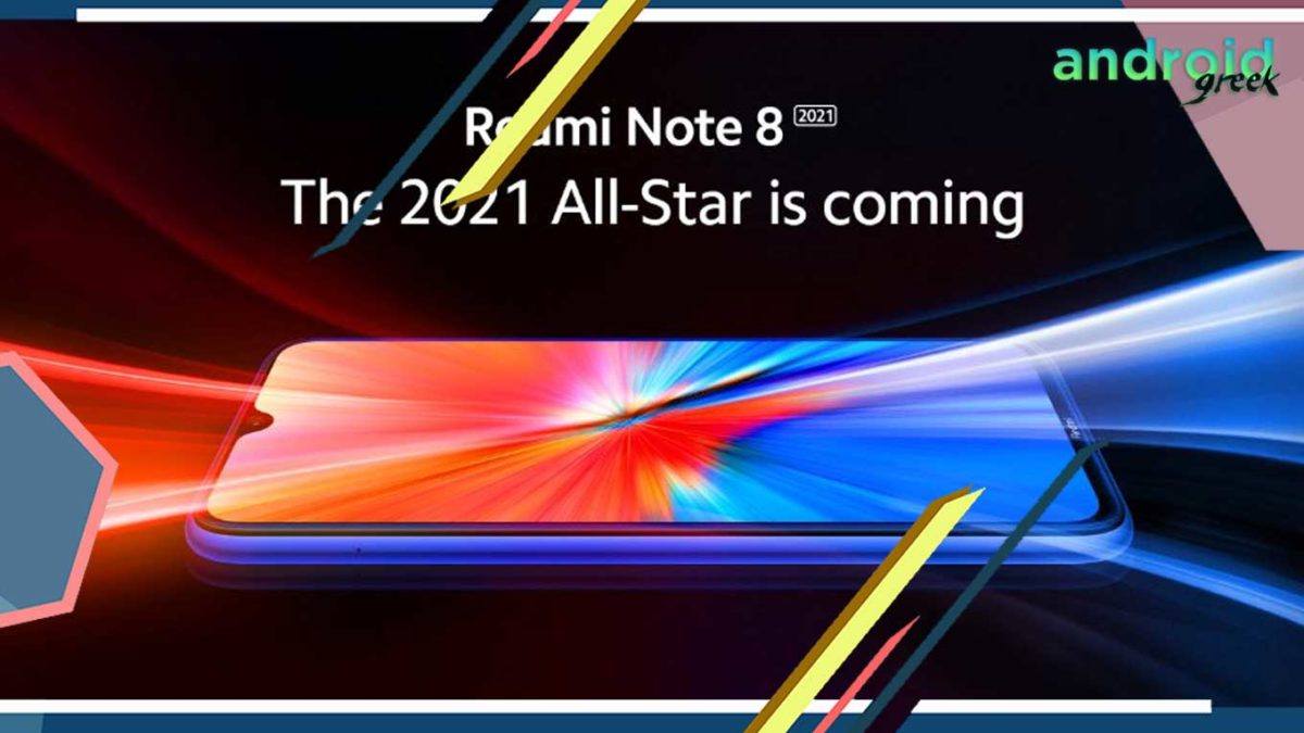 Redmi Note 8 (2021) Confirmed to launch, in India starting at Rs. 9999