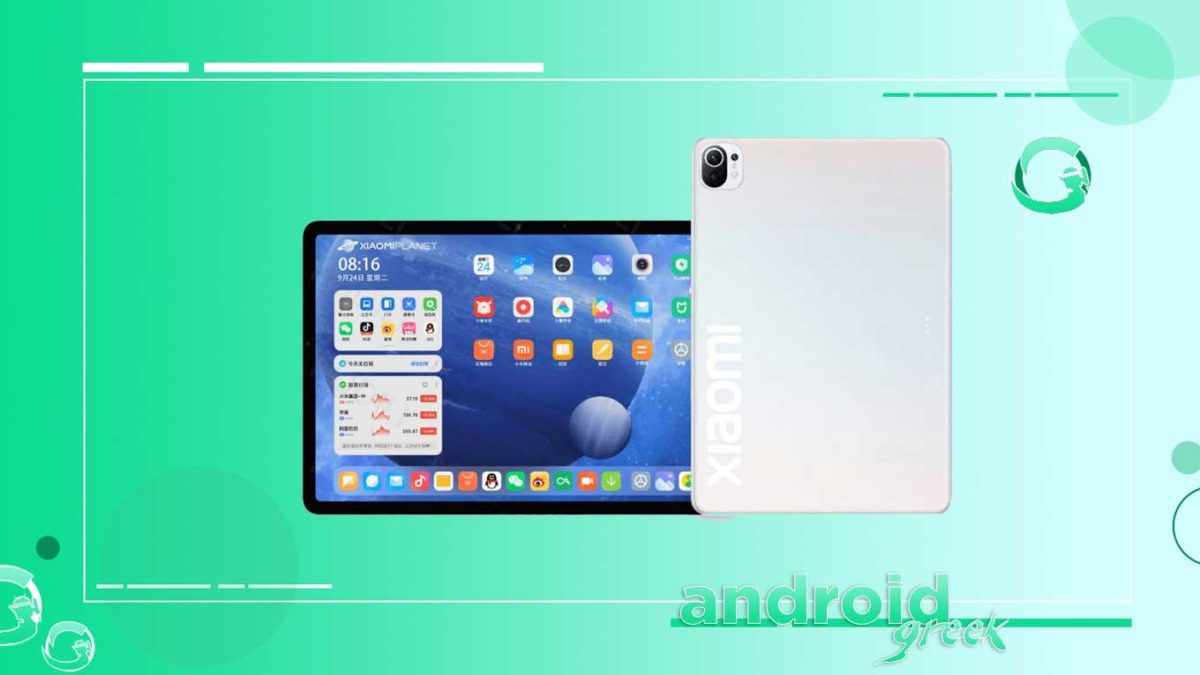 Xiaomi Mi Pad 5 could be come with 8720mAh battery and Snapdragon 870