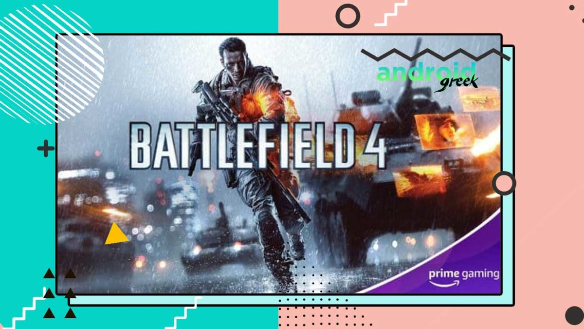 Battlefield 4: Get Free with Amazon Prime Gaming