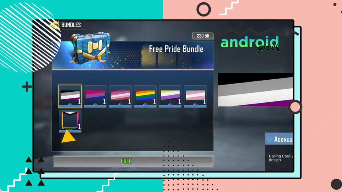 How to Collect Free Pride Bundled in Call Of Duty: Mobile Pride