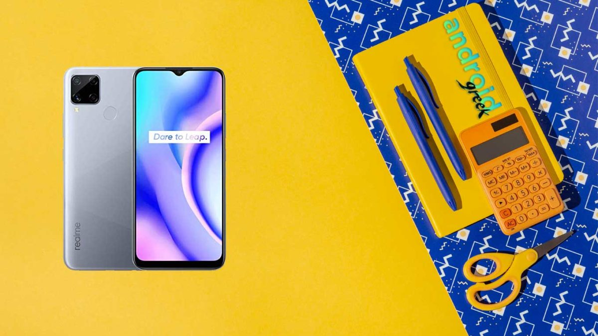 Realme C15 (RMX2185) official stock ROM, firmware, and updates Flash File – RMX2185_11_A.95