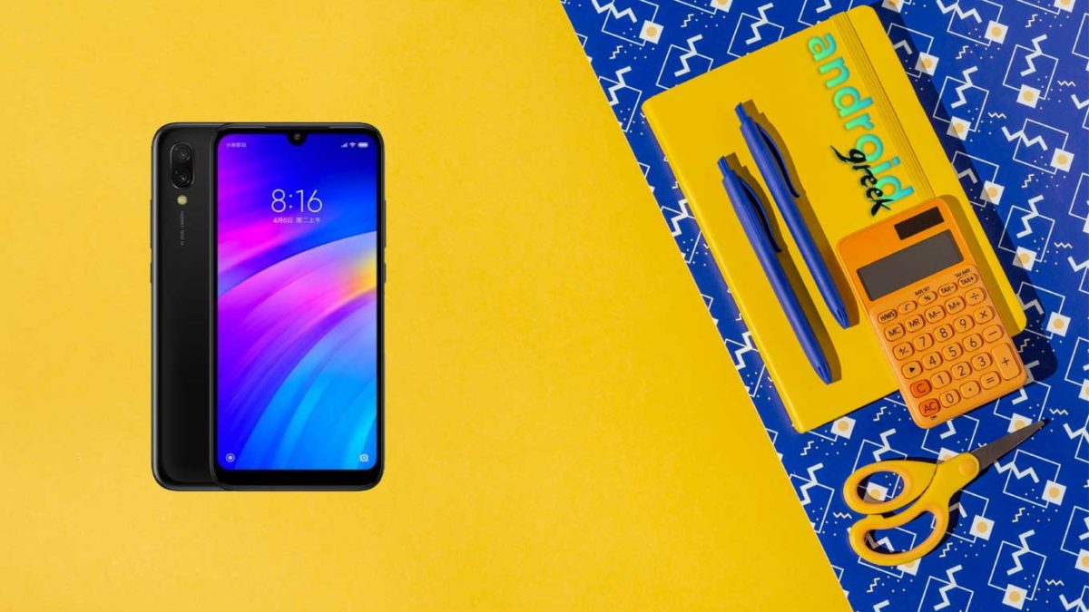 Redmi 7 China (onclite) official stock ROM, firmware, and updates Flash File – V12.5.1.0.QFLCNXM