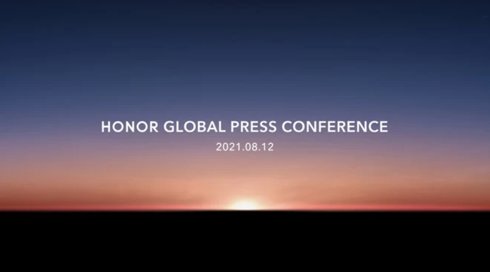 The global launch of Honor will be held on August 12th