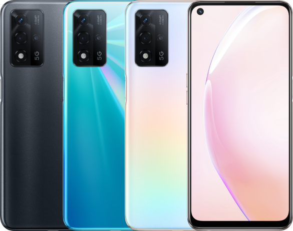 OPPO A93s 5G Launched in China with Dimensity 700, 48MP Triple-cam setup & 5,000mAh battery