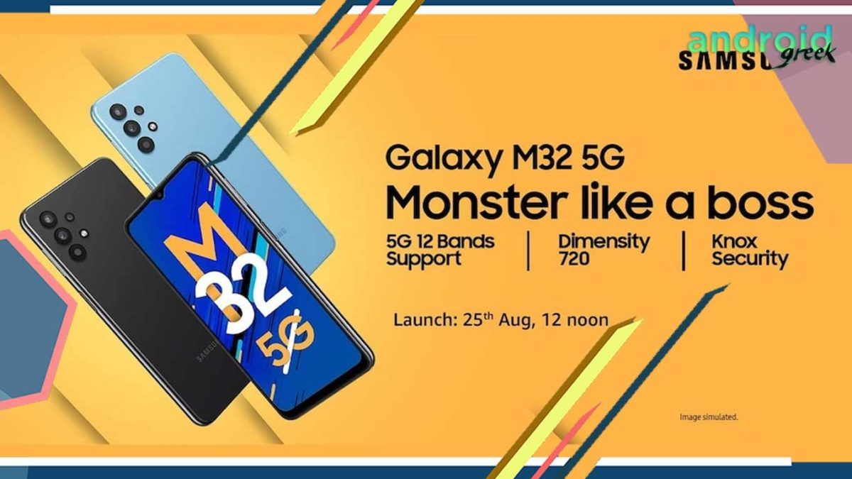 Here are the confirmed key features pertaining to Samsung's all-new Galaxy M32 5G handset