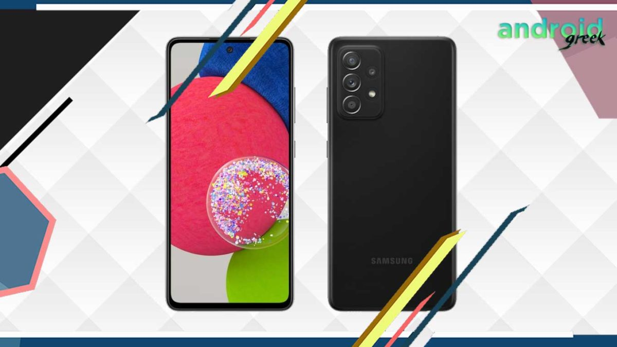 Listed on Amazon is the Samsung Galaxy A52s 5G price in India