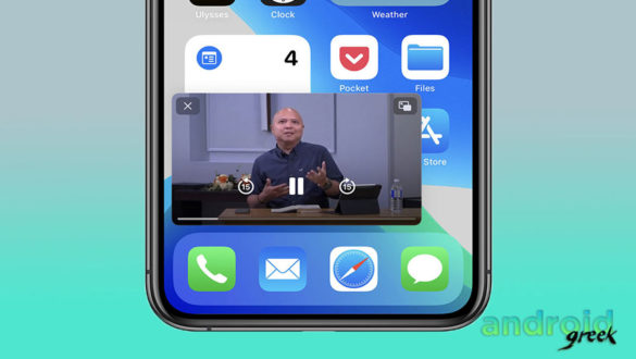Enable Picture-in-Picture Video on iPhone