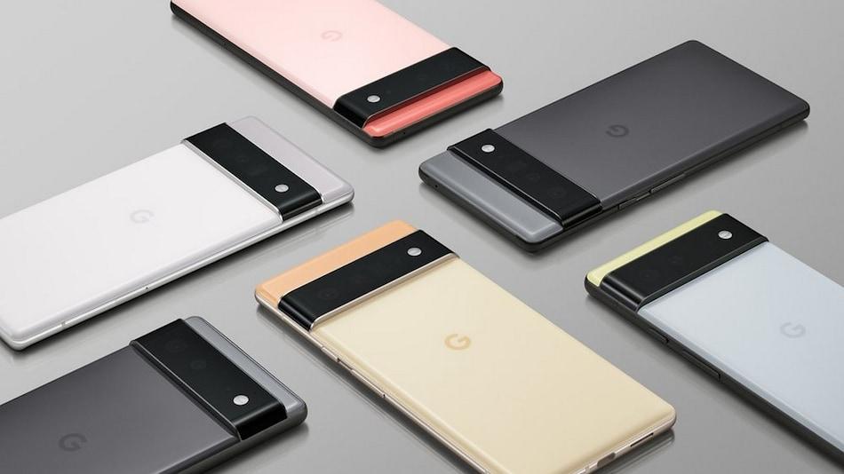 A short clip reveals the Google Pixel 6 Pro grey and black rear panel.