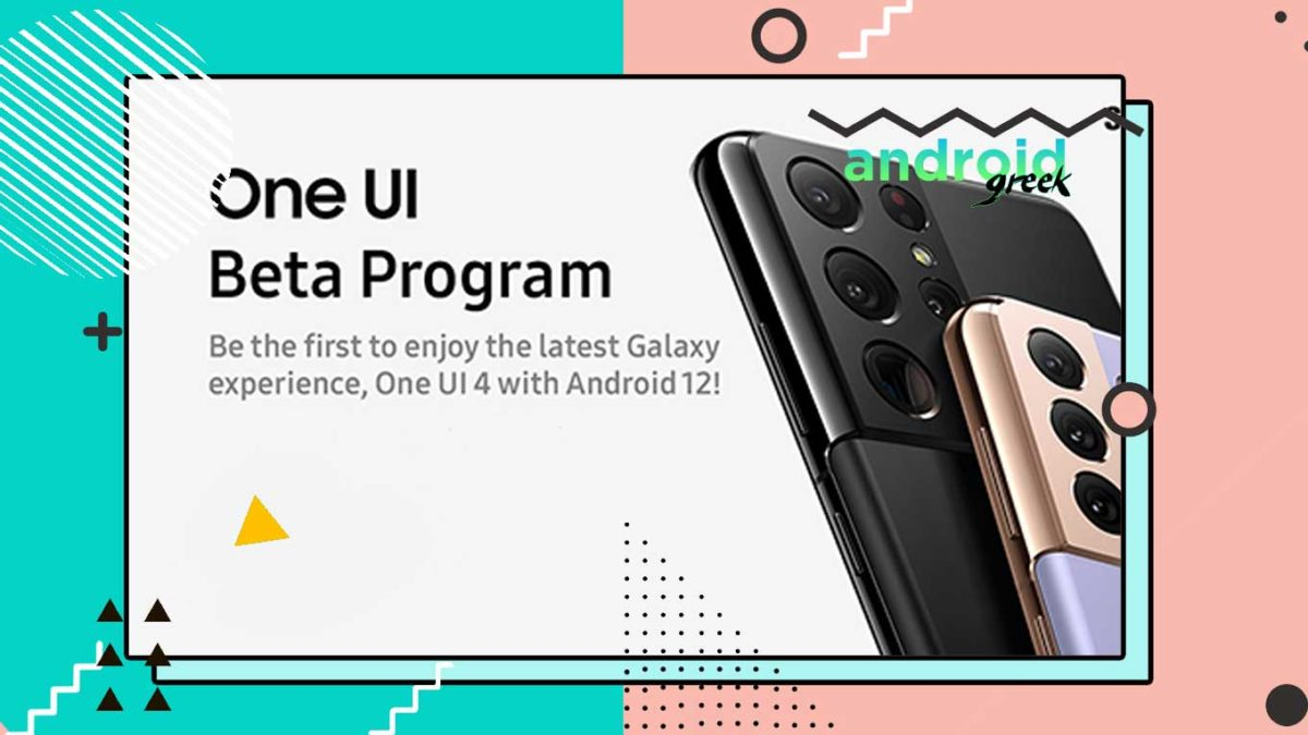 Samsung One UI 4 Beta is Live – How to Join One UI 4 Beta Program