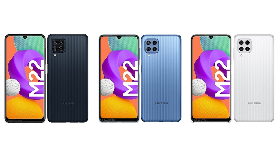 Samsung will soon launch a new smartphone titled the Galaxy M22